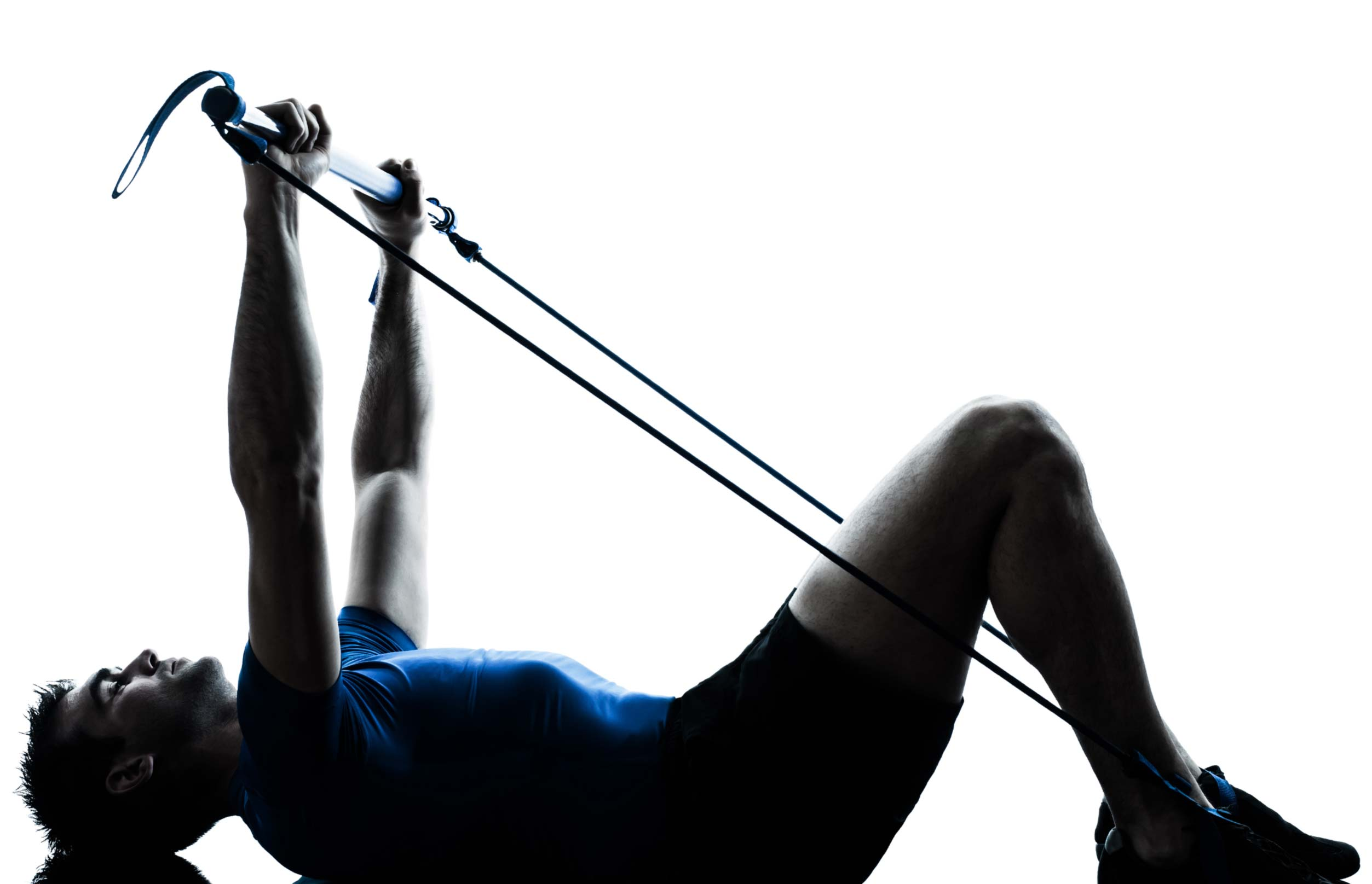 physiotherapy solutions - image of a man exercising