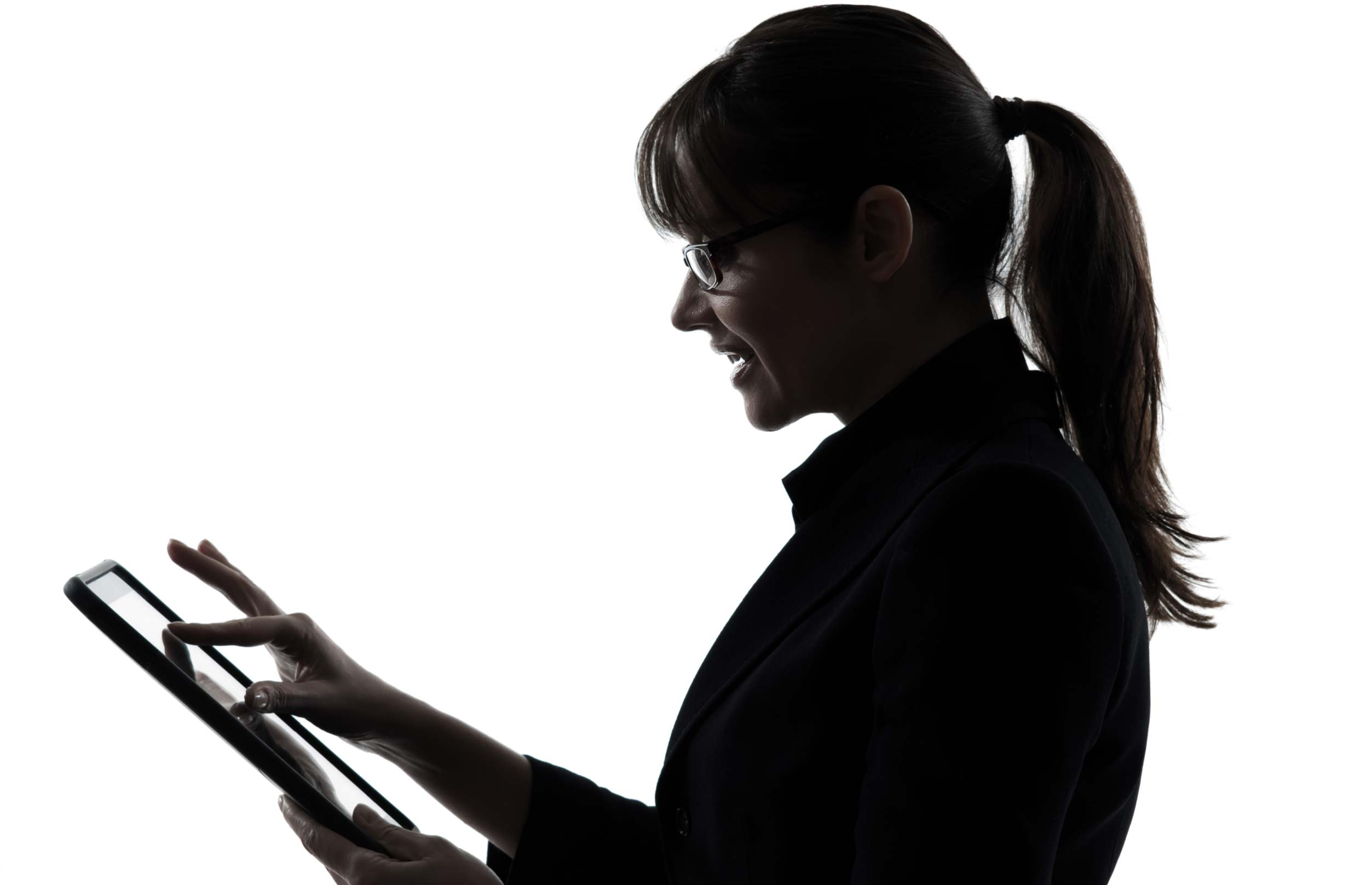 Physiotherapy Solutions - image of woman researching on iPad