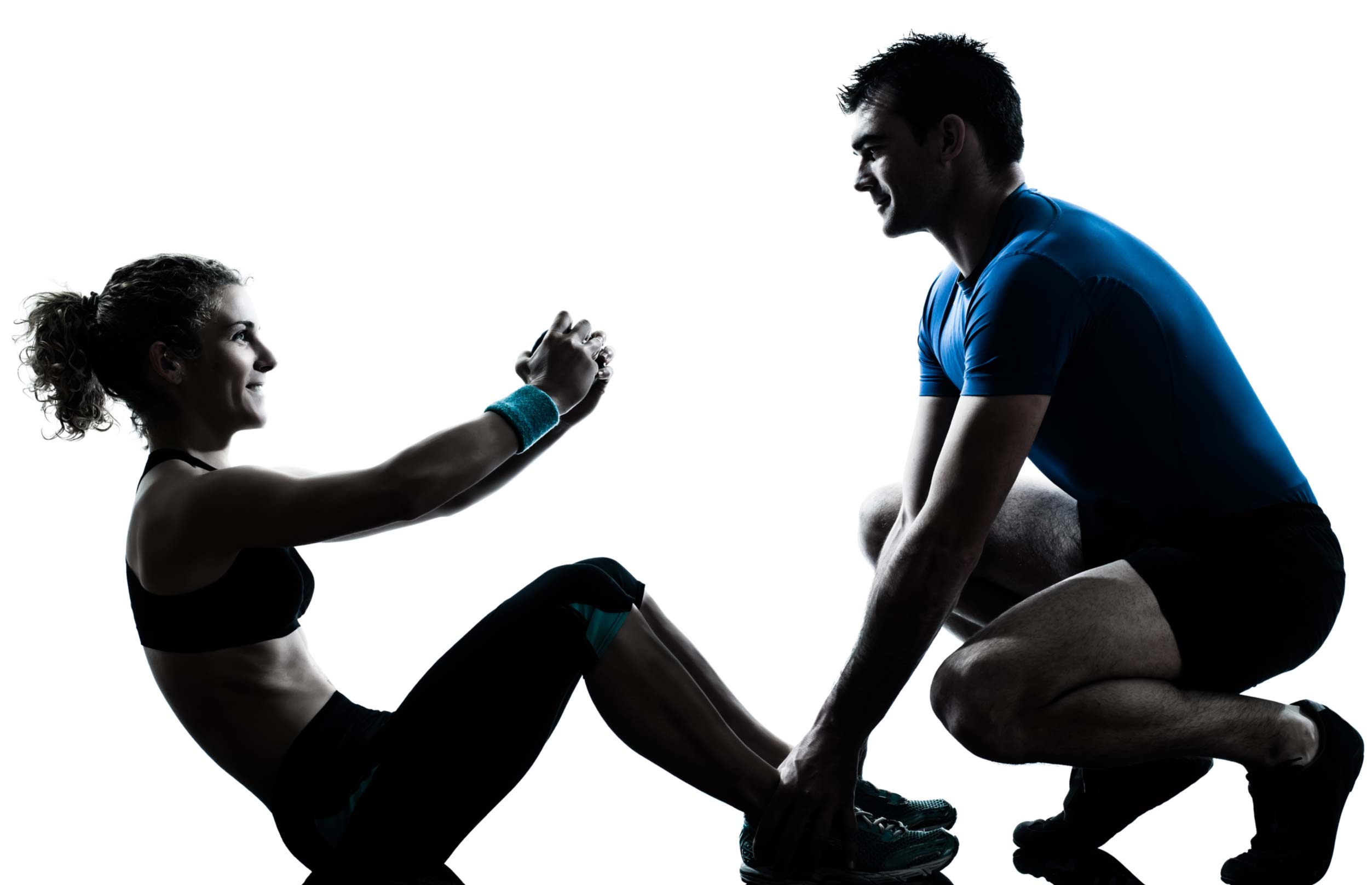 physiotherapy solutions - image of a man and woman exercising