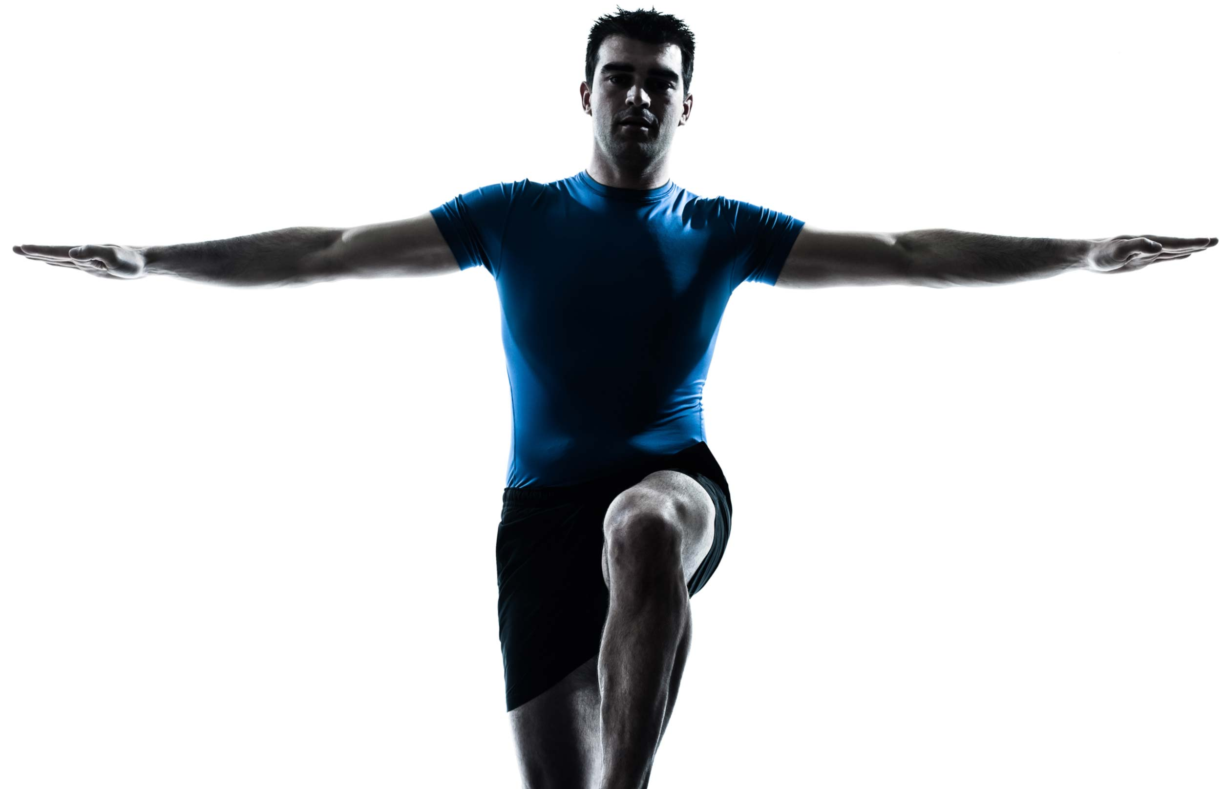 Physiotherapy Solutions - image of man using exercise ball